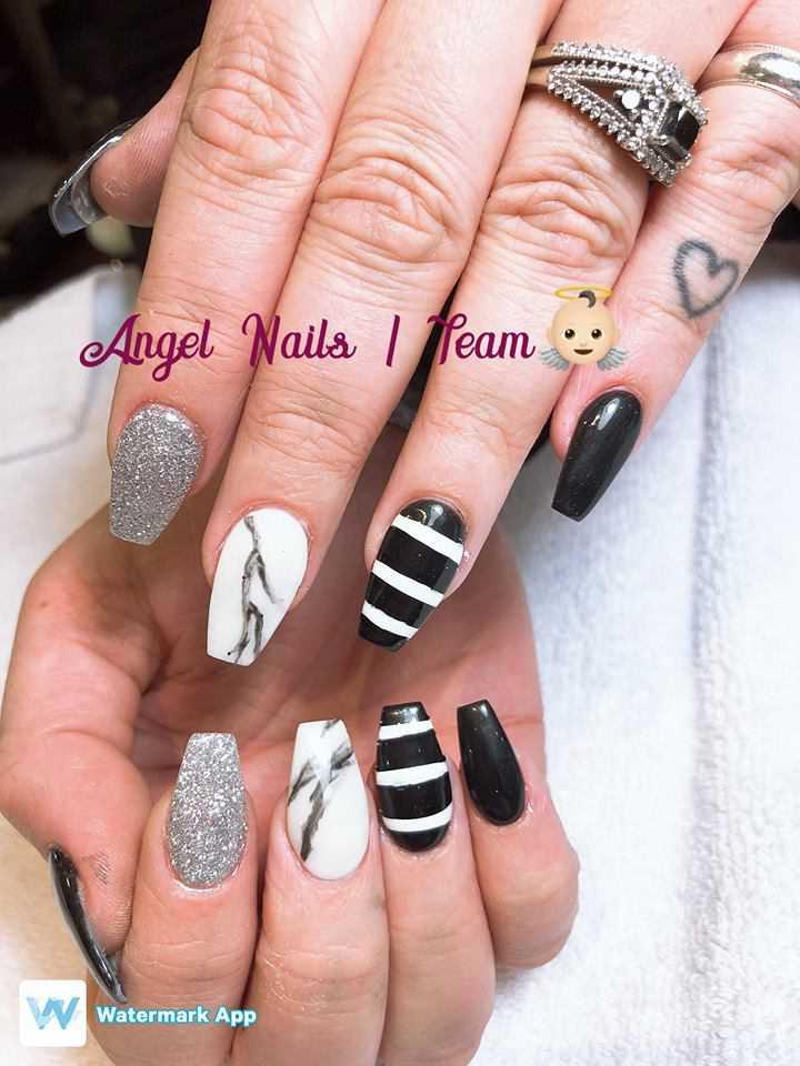 Nails Pinterest W33ping In 2020 Angel Nails Dream Nails Makeup Nails Art